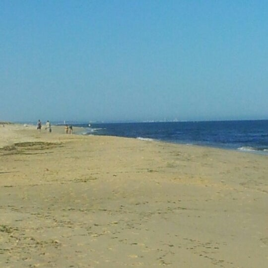 Photo taken at Praia do Barril by Isabel C. on 7/5/2012