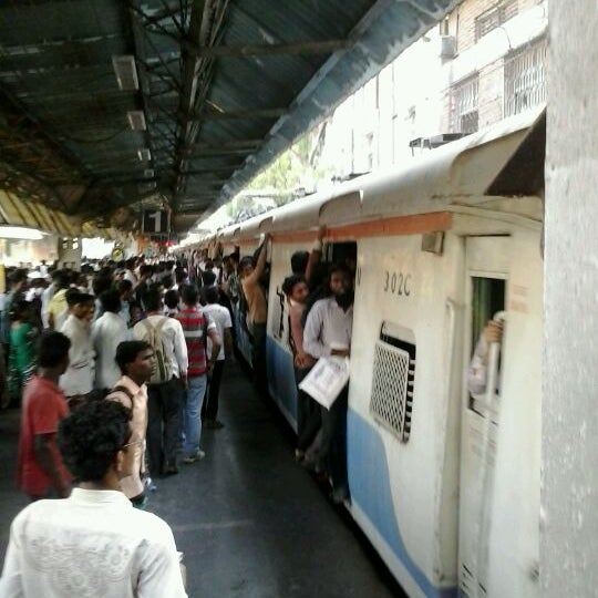 Photo taken at Dadar Railway Station by Bert S. on 5/15/2012