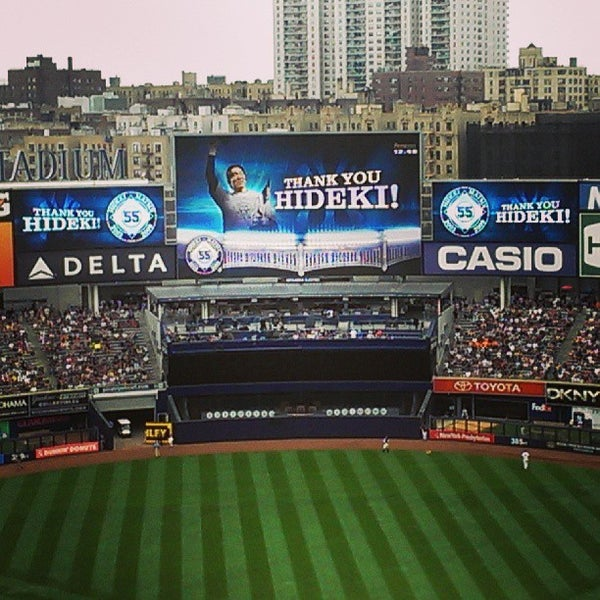Photo taken at Yankee Stadium by John C. on 7/28/2013