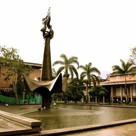 Photo taken at Universidad de Antioquia by Edward P. on 10/18/2012