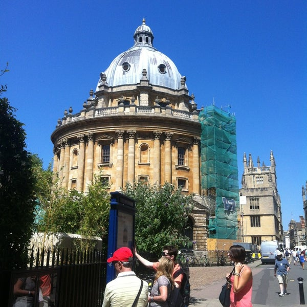 Photo taken at Radcliffe Camera by Stephanie J. on 7/19/2013