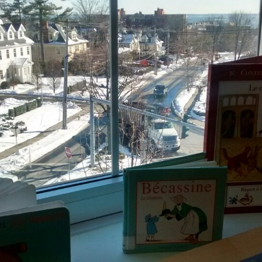 Photo taken at Greenwich Library by Diana S. on 1/28/2015