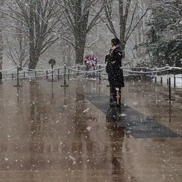 Photo taken at Arlington National Cemetery by Kathy W. on 2/25/2014