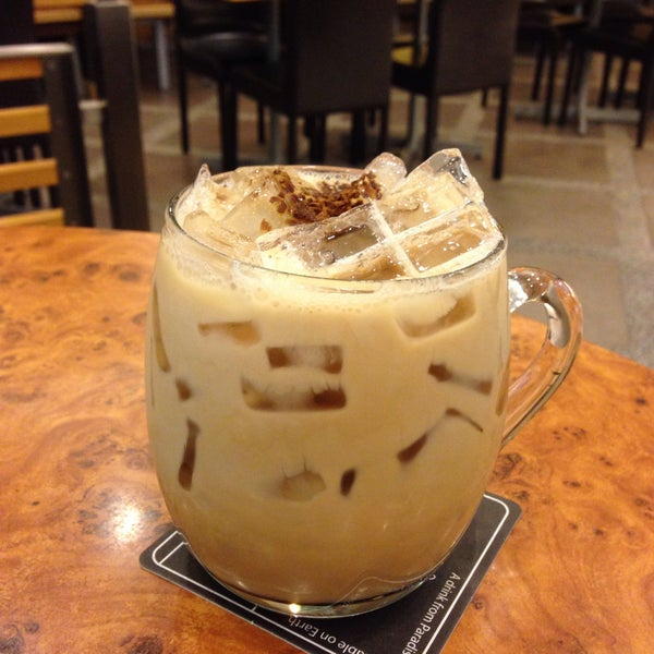 Black Canyon iced coffee is quite good. Strong coffee which doesn't taste diluted even after ice has melted.