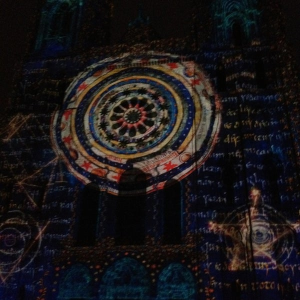 Photo taken at Cathedral Basilica of Our Lady by Jay H. on 6/13/2013