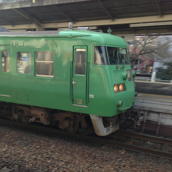 Photo taken at Ōtsu Station by c4macaron on 1/23/2013