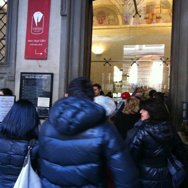 Photo taken at Galleria degli Uffizi by Francesco B. on 2/16/2013
