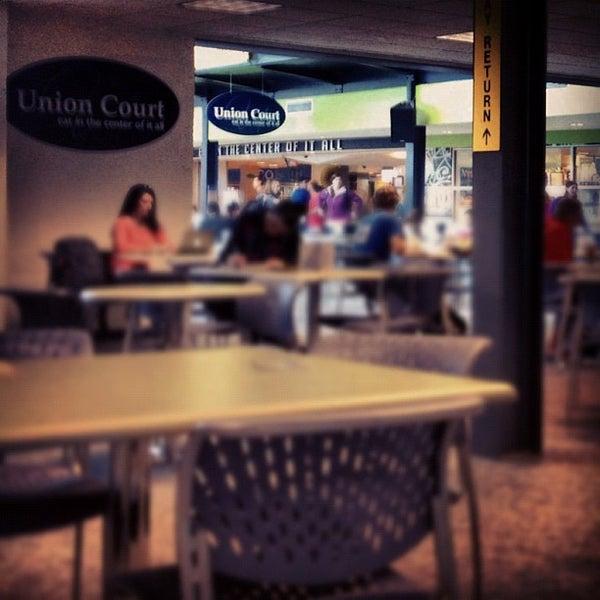 Photo taken at Union Court by Jason B. on 10/1/2012