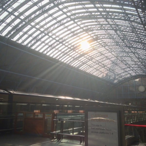 Photo taken at London St Pancras International Railway Station (STP) by Sandor K. on 3/9/2014