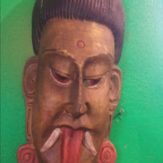 Photo taken at Cafe Tibet by Marina K. on 7/13/2014