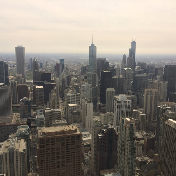 Photo taken at John Hancock Center by ibrahim S. on 4/18/2015