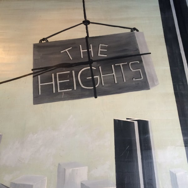 Photo taken at The Heights Bar & Grill by Paul B. on 2/22/2015
