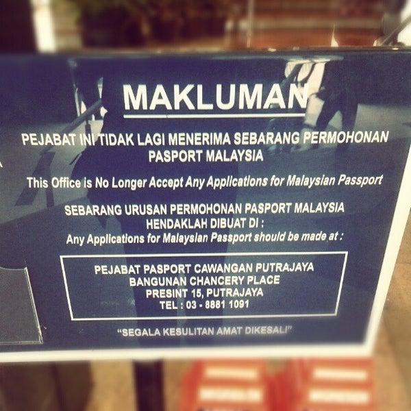 Photo taken at Jabatan Imigresen Malaysia by Mohd Muhaimin R. on 2/19/2013