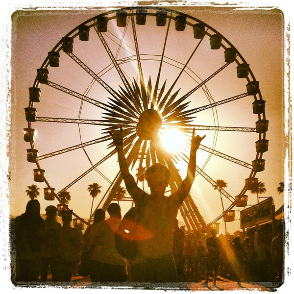Photo taken at Coachella Valley Music and Arts Festival by Ari B. on 4/22/2013