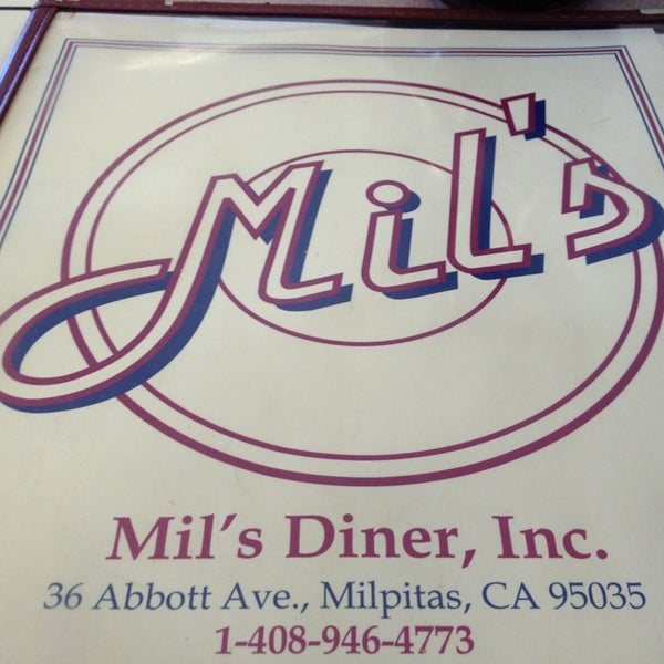 Photo taken at Mil's Diner by Ryan H. on 2/24/2013