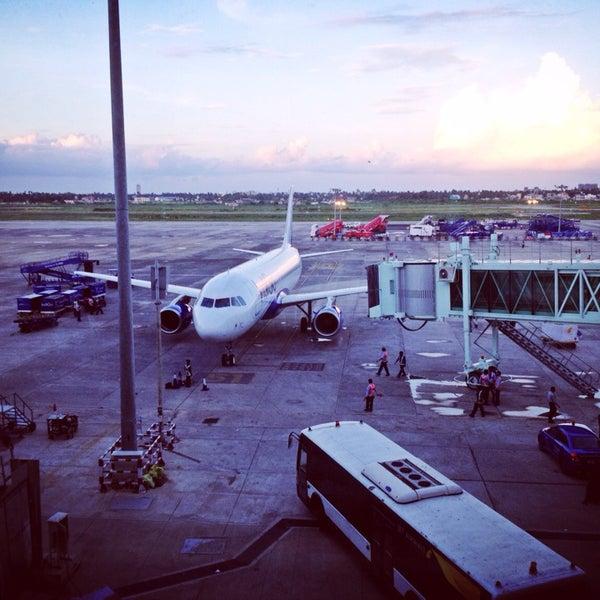 Photo taken at Netaji Subhash Chandra Bose International Airport (CCU) by Ritwik K. on 7/10/2013