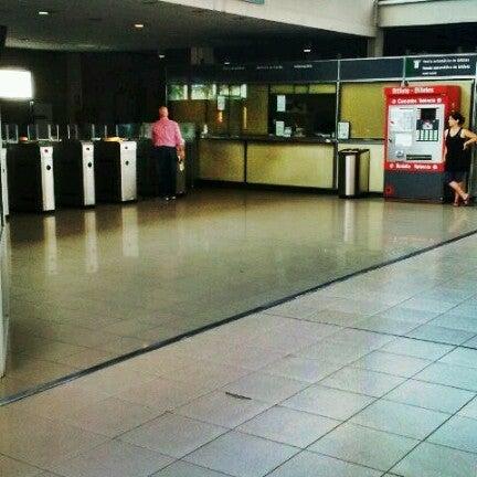 Photo taken at Estació de Tren - València-Cabanyal by Tania S. on 6/8/2012