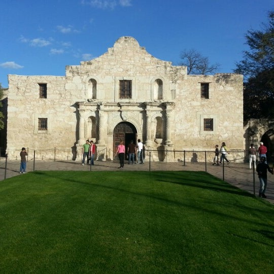 Photo taken at The Alamo by Lauren R. on 2/2/2013