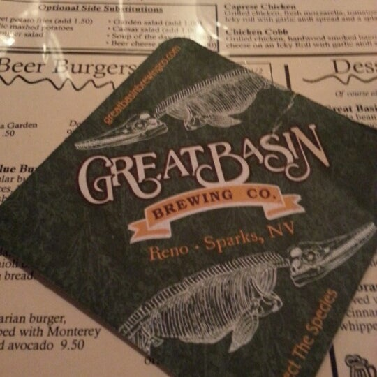 Photo taken at Great Basin Brewing Co. by Sirinee T. on 11/10/2012