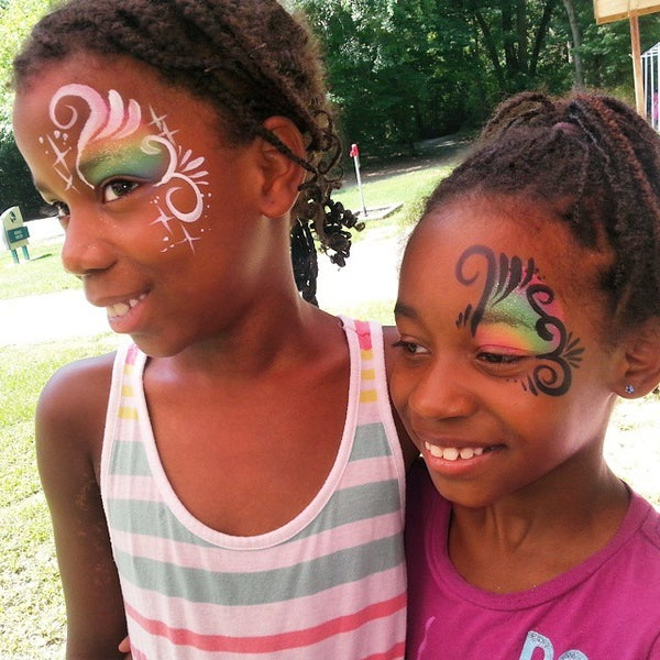 Photo taken at Lexington, SC by Julzz the Facepainter J. on 8/20/2014