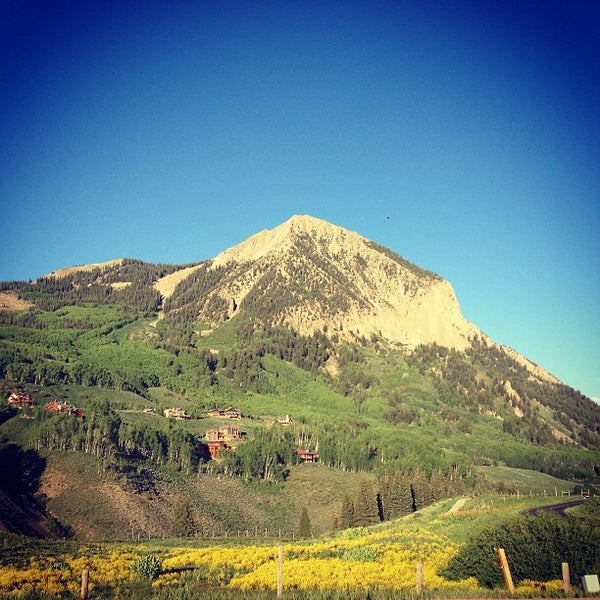 Photo taken at Town of Crested Butte by Carl O. on 6/15/2013