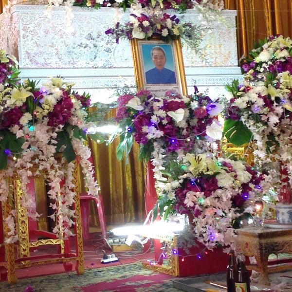 Photo taken at วัดดอนตูม บ้านโป่ง by Pucca L. on 3/20/2016