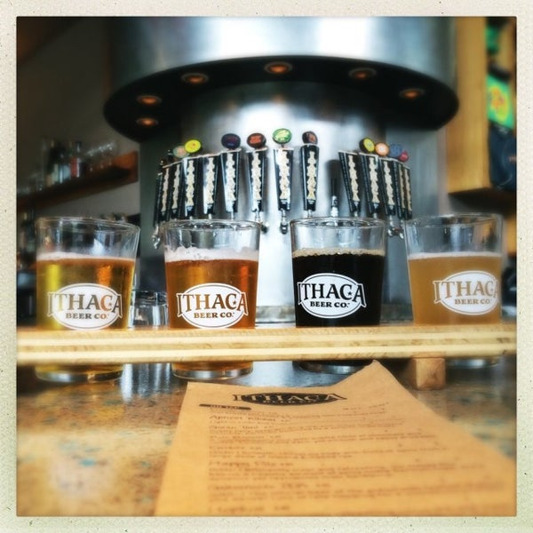 Photo taken at Ithaca Beer Co. Taproom by Michael A. on 7/14/2016