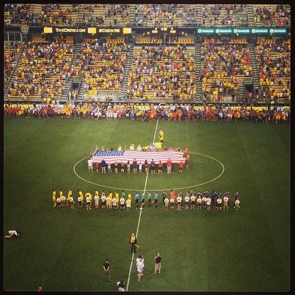 Photo taken at MAPFRE Stadium by Tom H. on 6/23/2013
