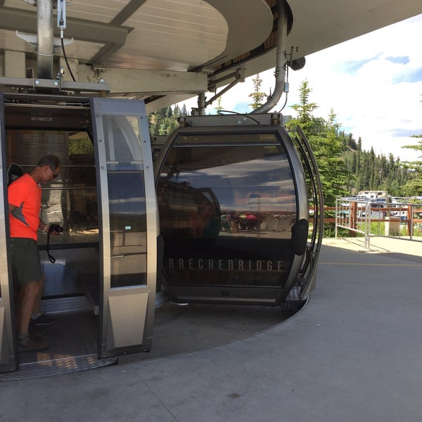 Photo taken at Breck Connect Gondola by Tara D. on 7/16/2016