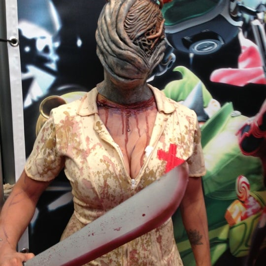 Photo taken at New York Comic Con 2012 by Dre V. on 10/14/2012