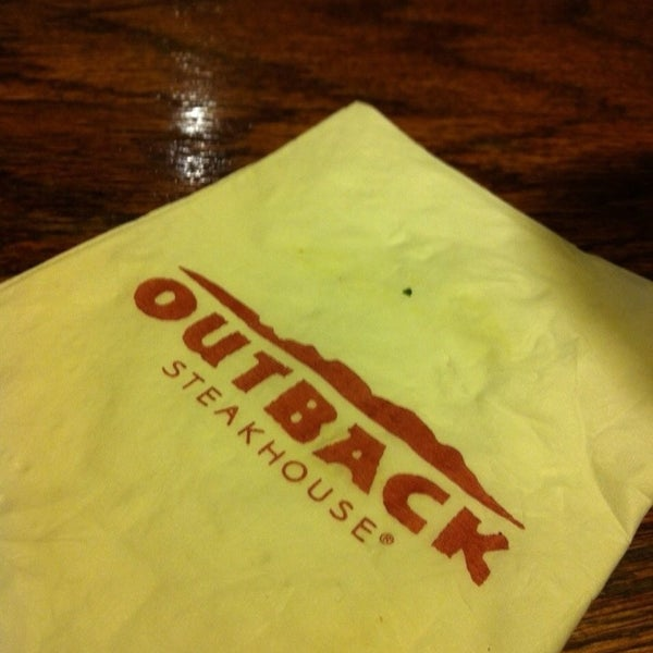 Photo taken at Outback Steakhouse by George L. on 6/20/2013