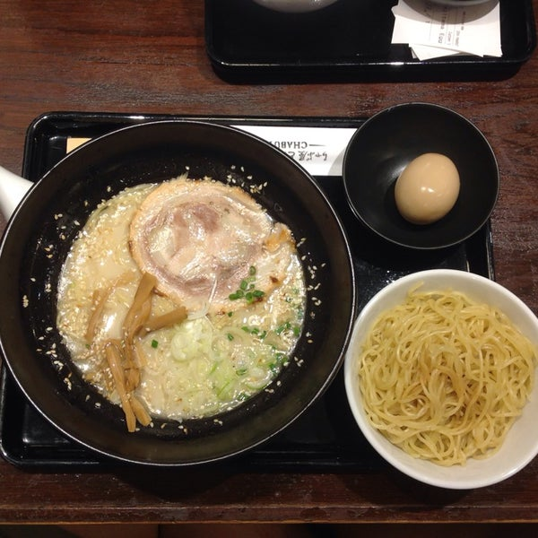 Photo taken at Chabuton Ramen by Peter T. on 5/2/2014