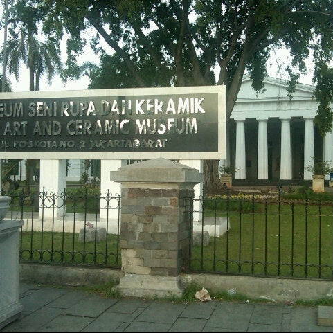 Photo taken at Museum Seni Rupa dan Keramik by Yulianto G. on 1/11/2014