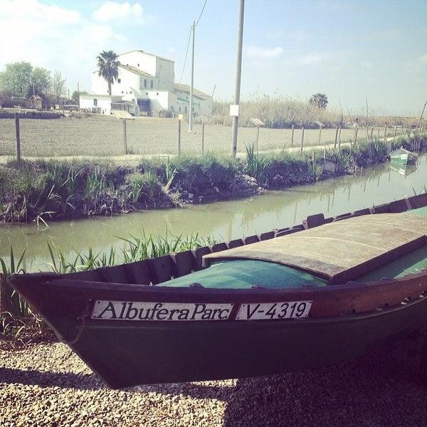 Photo taken at La Albufera by Carola O. on 3/9/2014