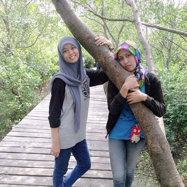 Photo taken at Ekowisata Mangrove by Revie F. on 2/9/2014