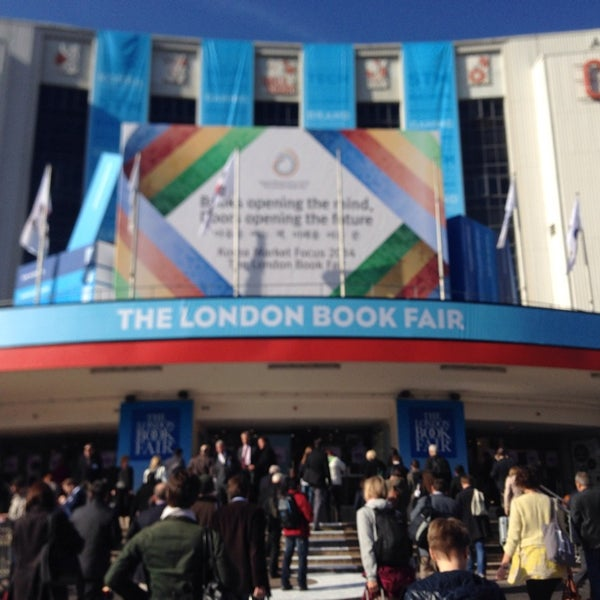 Photo taken at Earls Court Exhibition Centre by Maja B. on 4/9/2014