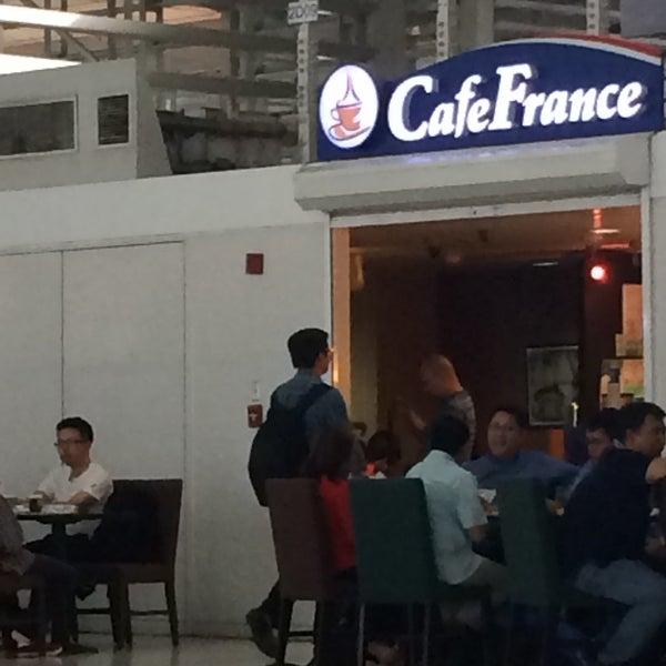 Photo taken at Cafe France by doc4kids E. on 9/3/2015