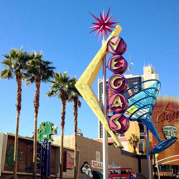 Photo taken at Downtown Las Vegas by Greg W. on 12/28/2012
