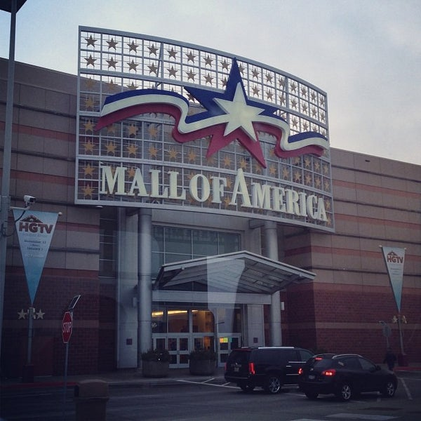 Photo taken at Mall of America by Ryan G. on 12/17/2012