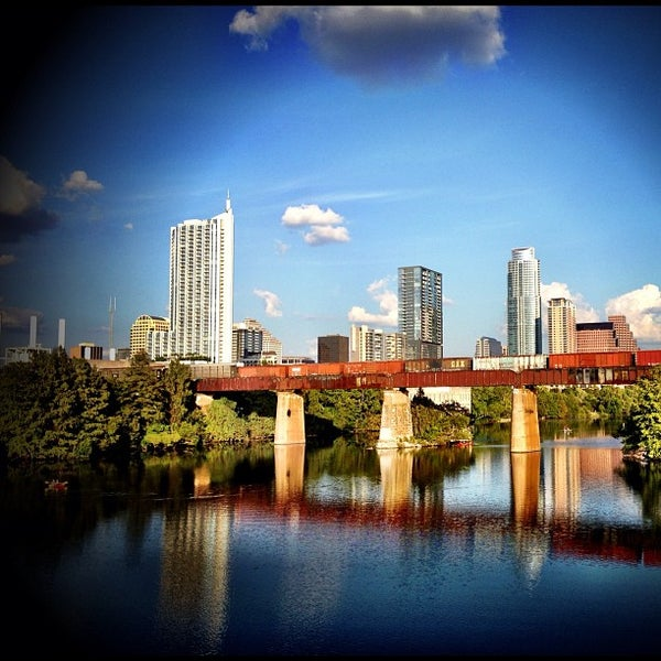 Photo taken at Lady Bird Lake Trail by Sean C. on 10/2/2012