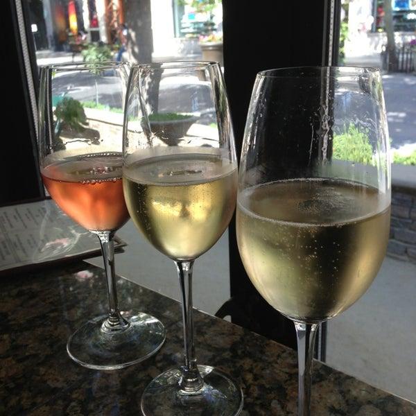 Photo taken at Village California Bistro & Wine Bar by Melissa D. on 7/20/2013