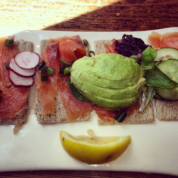 Photo taken at Le Pain Quotidien by Sonia J. on 4/1/2014