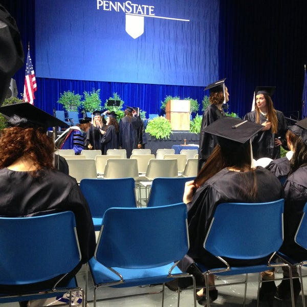 Photo taken at Bryce Jordan Center by Alyse H. on 12/22/2012
