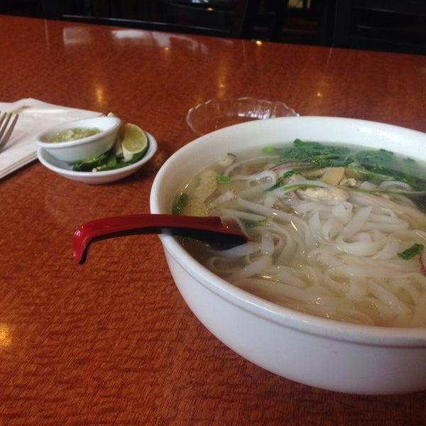 Spectacular chicken noodle soup. The BBQ beef is great too.