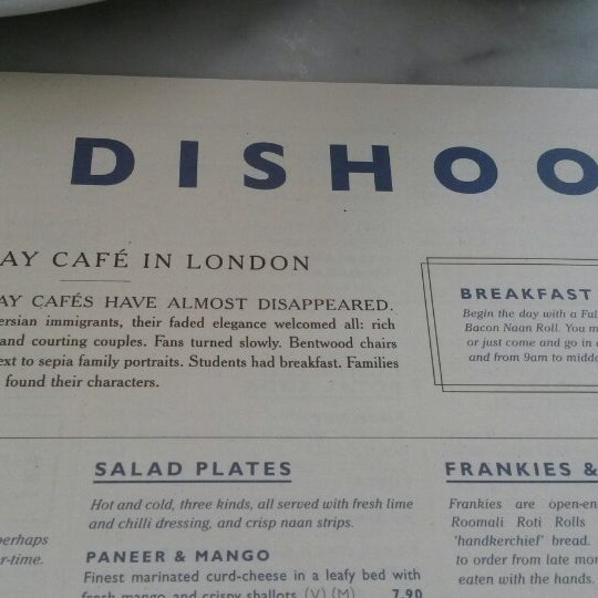 Photo taken at Dishoom by Ilaria F. on 3/7/2014