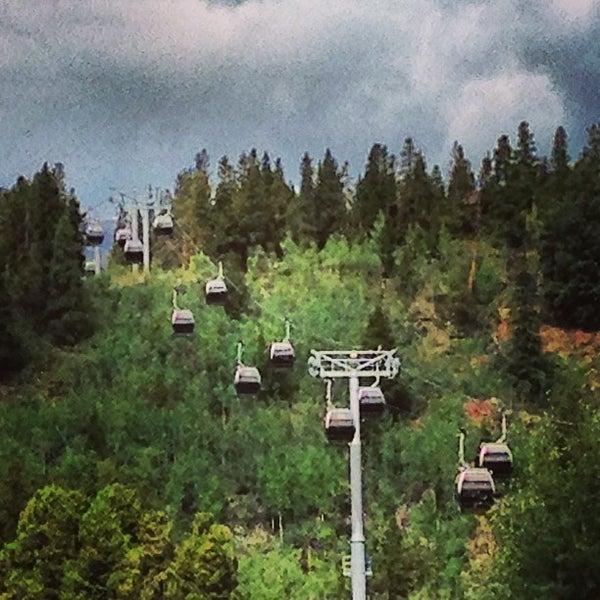 Photo taken at Breck Connect Gondola by Elisabeth D. on 8/31/2013