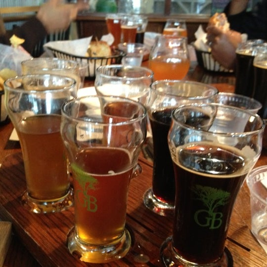 Photo taken at Greenbush Brewing Company by Veronica S. on 10/5/2012
