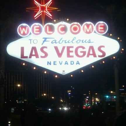 Photo taken at Welcome To Fabulous Las Vegas Sign by Doug S. on 2/7/2013