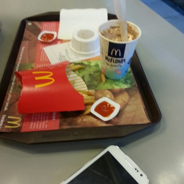 Photo taken at McDonald's by Merisa C. on 2/18/2014