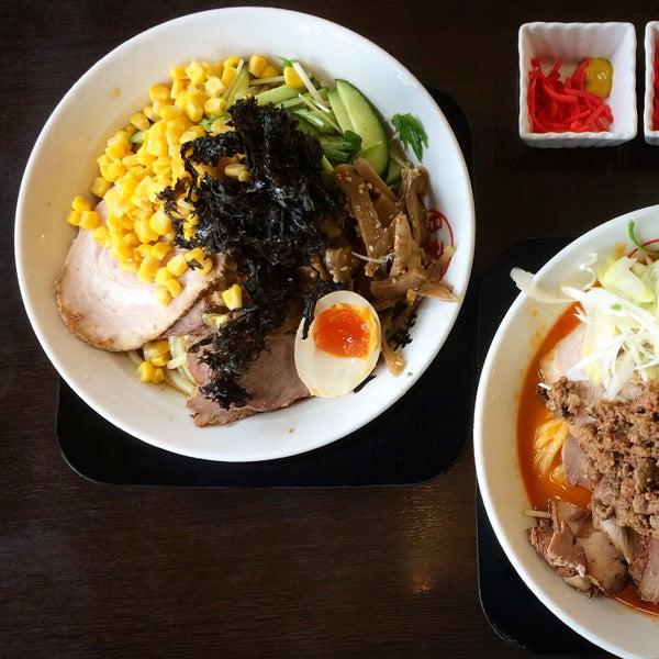 Photo taken at 手打ち麺処 暁天 by TKKR on 8/16/2015